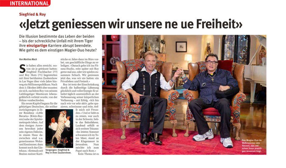 Besuch bei Siegfried & Roy
