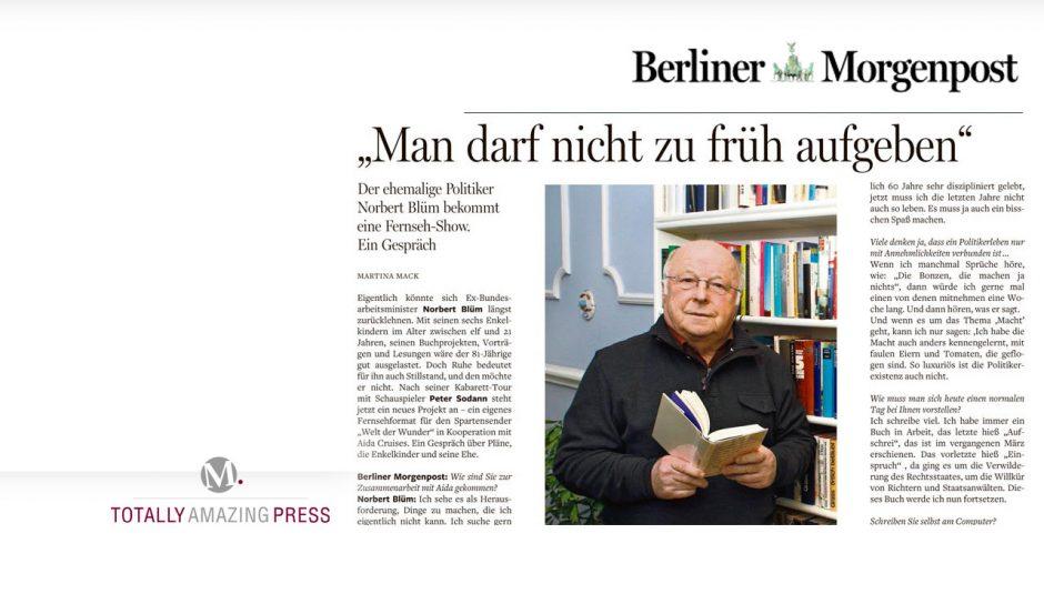 Norbert Blüm im Interview