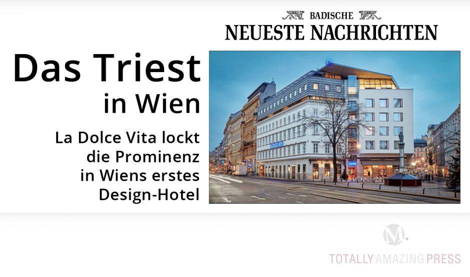 Das Hotel Triest in Wien