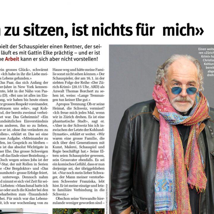 Christian Kohlund im Gespräch