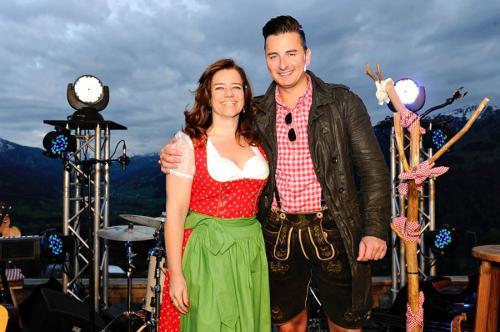 """Der """"Mountain-Man""""Andreas Gabalier bei seinerAlbum-Premiere in Kitzbühel"""