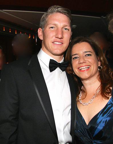 Weltmeister der Herzen: BastianSchweinsteiger beim DeutschenSportpresseball in Frankfurt
