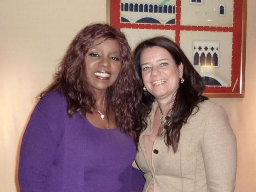 "Interview mit Gloria Gaynor im Hotel ""Adlon"", Berlin"