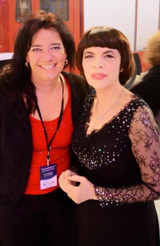 """Interview mit dem """"Spatz von Avignon"""", Mireille Mathieu!"""
