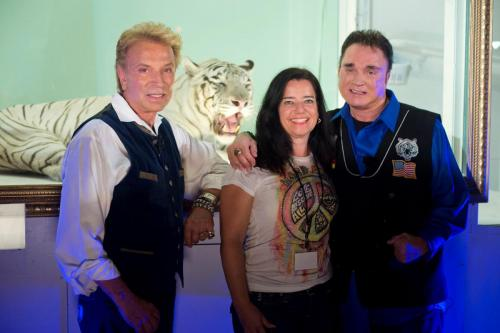 Mit Siegfried & Roy in Las Vegas!
