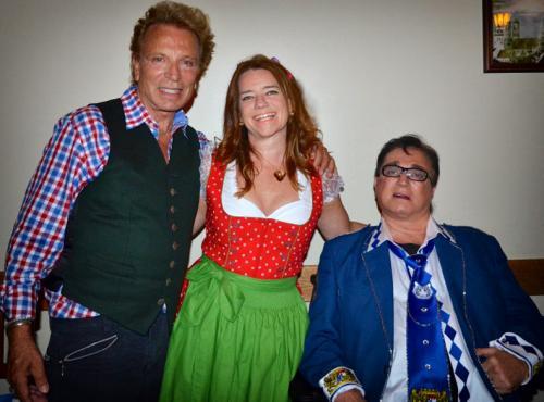 Auch in Las Vegaswird Oktoberfest gefeiert:Beim Anstich mit Siegfried & Roy!